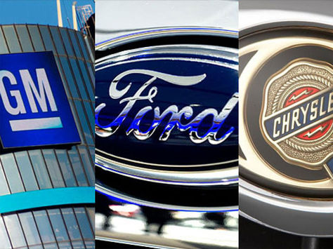 Detroit Three's won't be the leaders of North American auto output
