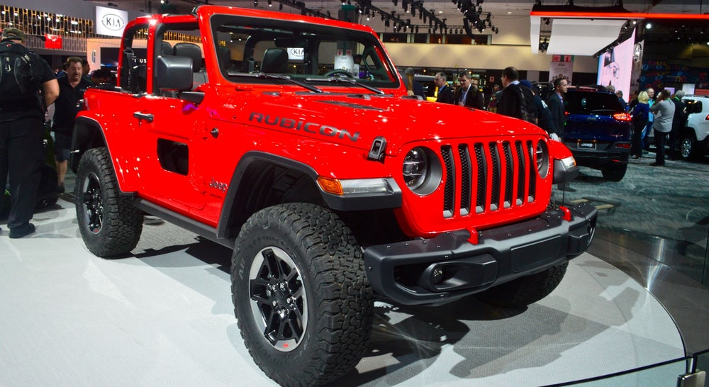 FCA Announces 2018 Jeep Wrangler Includes Aluminum Body Panels