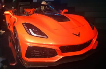 Corvette ZR1 convertible unveiled ahead of Los Angeles Auto Show