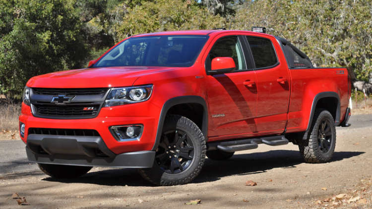 Images of Chevrolet Colorado