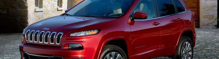 2016 Jeep Cherokee overland two