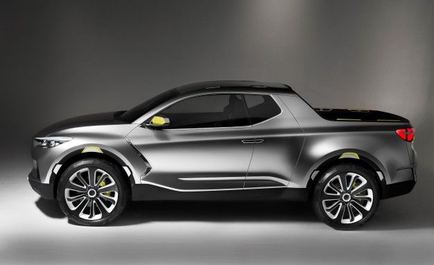 Images of Hyundai Santa Cruz Pickup Truck