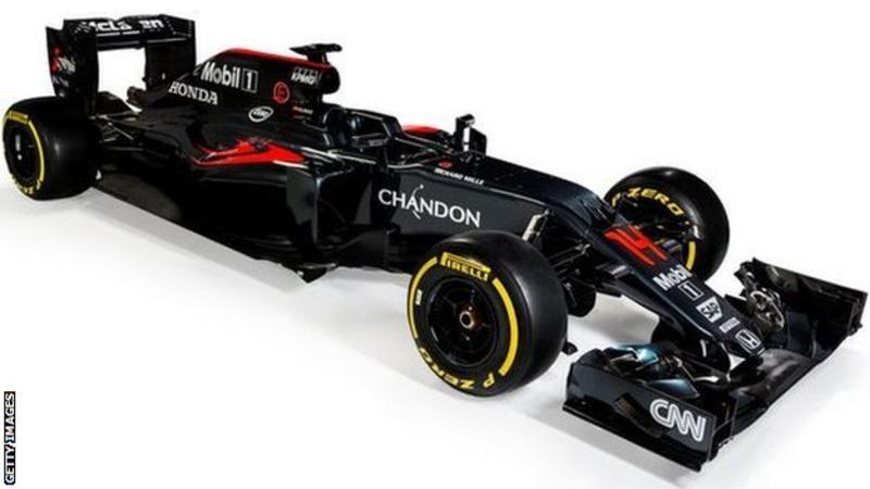 McLaren-Honda reveals MP4-31 car for 2016 season