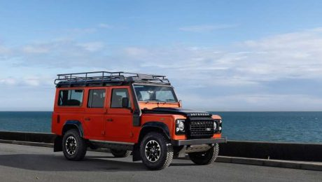 New Land Rover Defender images
