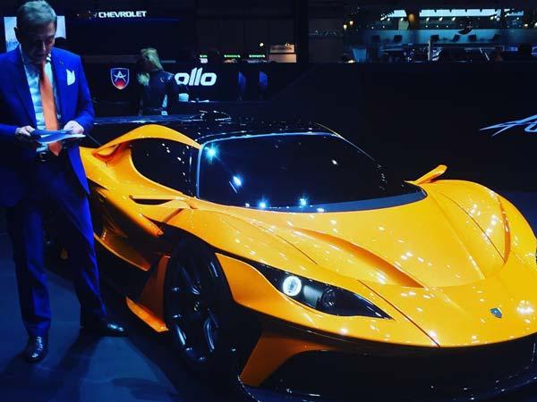 Images of Apollo Arrow, Geneva Motor Show