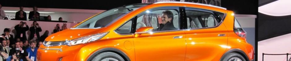 Images of Chevrolet Bolt electric car