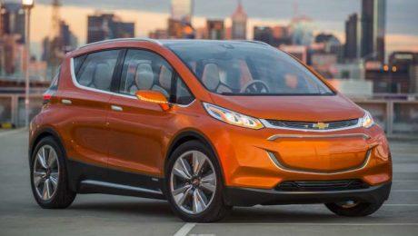 Images of Chevrolet Bolt EV electric car