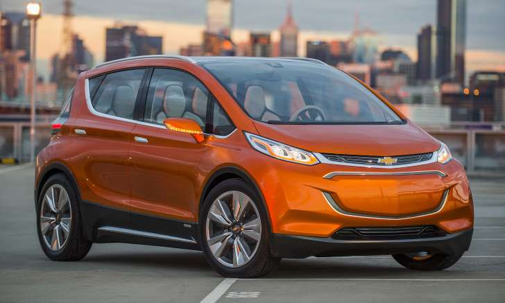 Images of Chevrolet Bolt EV electric car