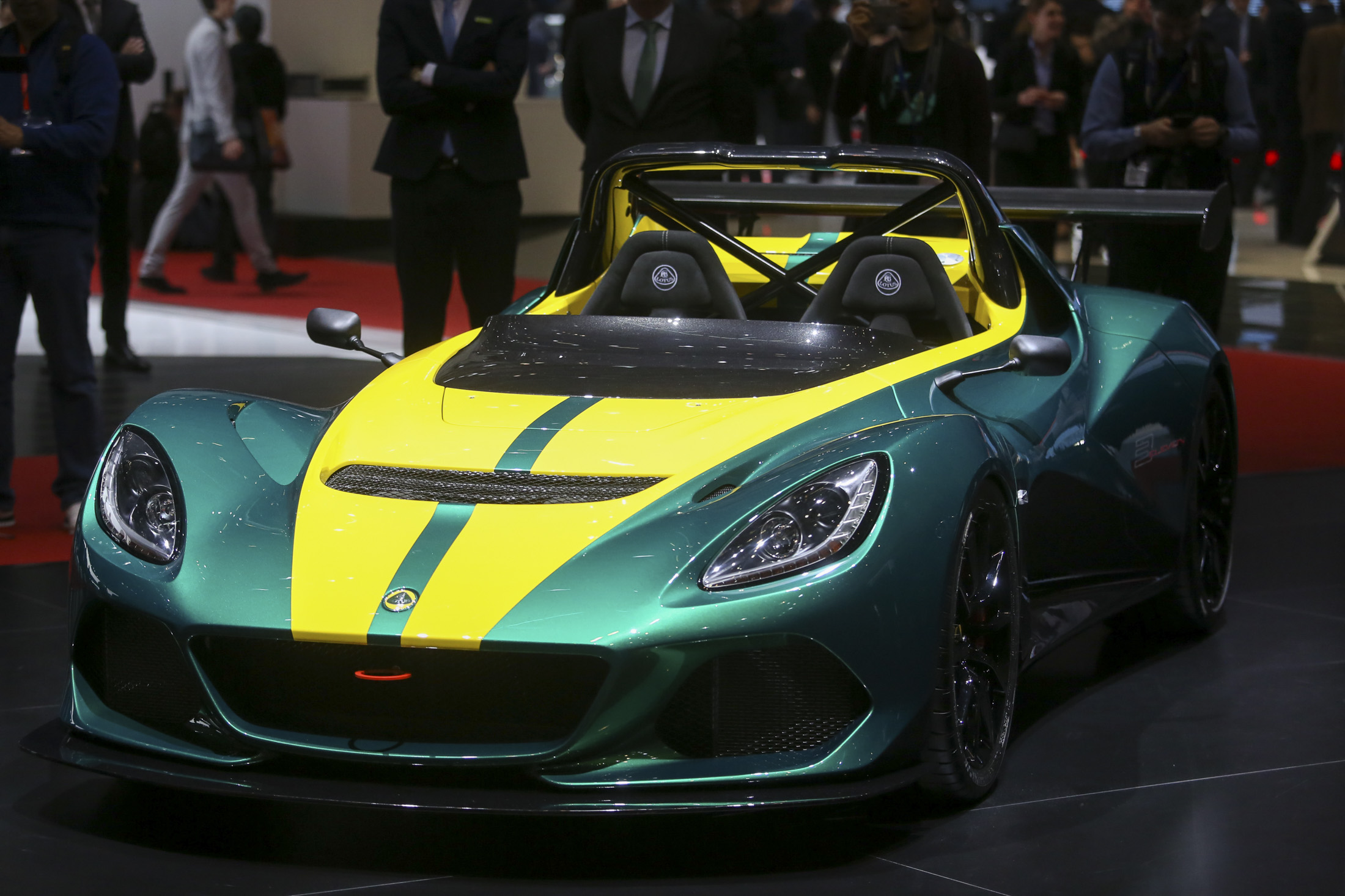 A Lotus Elise 3-11 automobile, produced by Group Lotus Plc, a luxury unit of Proton Holdings Bhd., sits on display on the first day of the 86th Geneva International Motor Show in Geneva, Switzerland, on Tuesday, March 1, 2016. The show opens to the public on March 3, and will showcase the latest models from the world's top automakers. Photographer: Chris Ratcliffe/Bloomberg