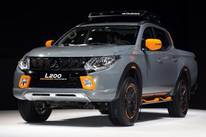 Mitsubishi L200 Geoseek Concept Geneva Motor Show