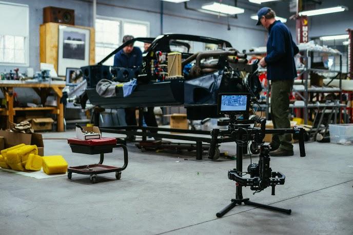 Images of RK Motors iconic '66 Le Mans-winning GT40 restoration