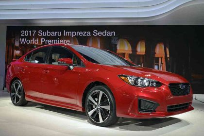 Subaru Impreza Hatchback images New York Auto Show 2016