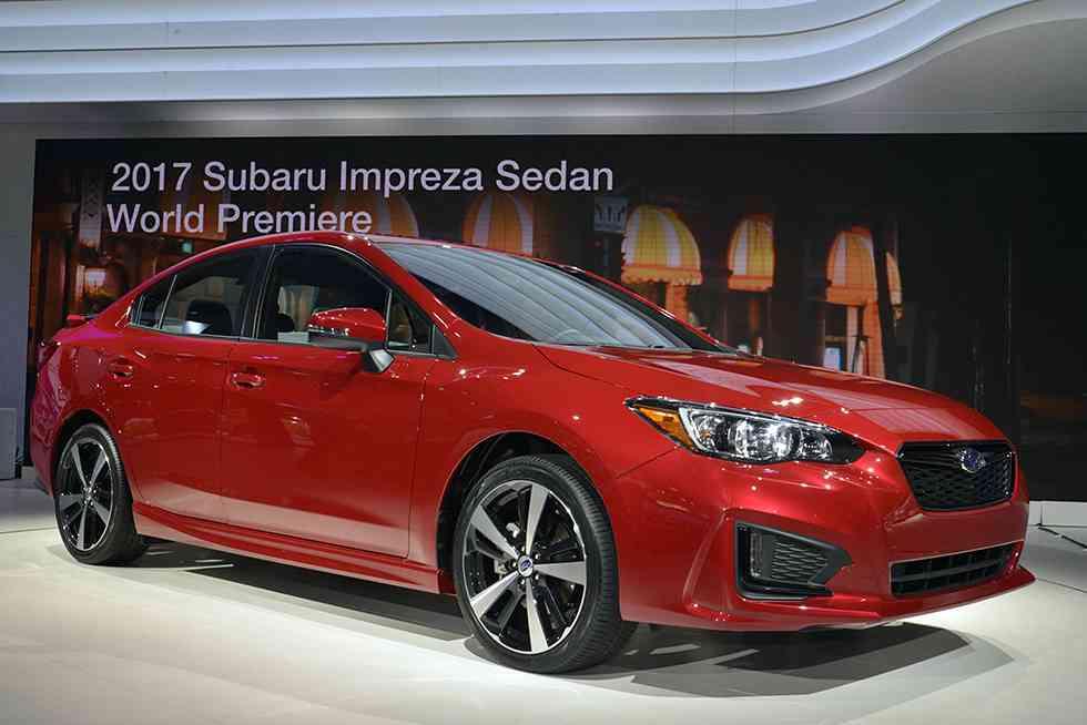 Subaru Impreza Hatchback images New York Auto Show 2016