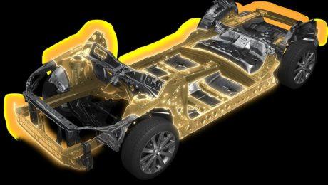 Subaru global platform images