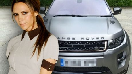 Victoria Beckham's special edition Range Rover