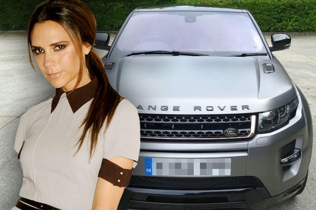 Victoria Beckham's special edition Range Rover