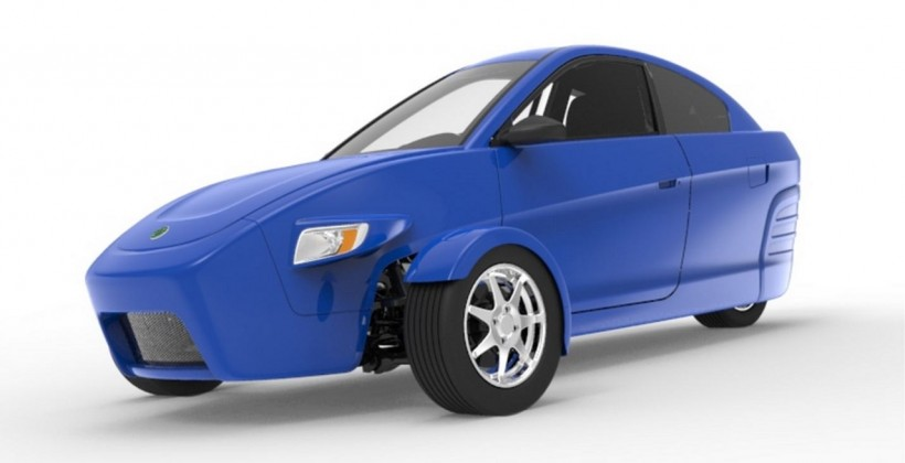 elio three wheeler images