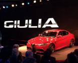 geneva motor show 2016, Alfa Romeo Giulia