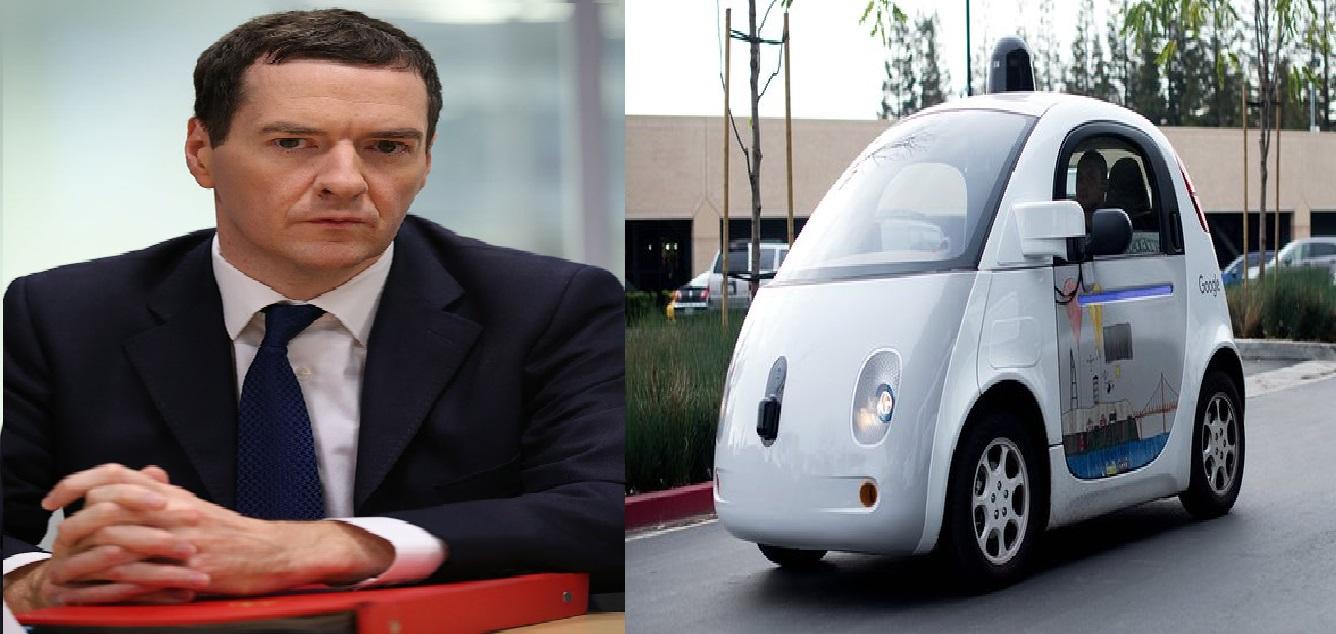 george osborne and driverless cars