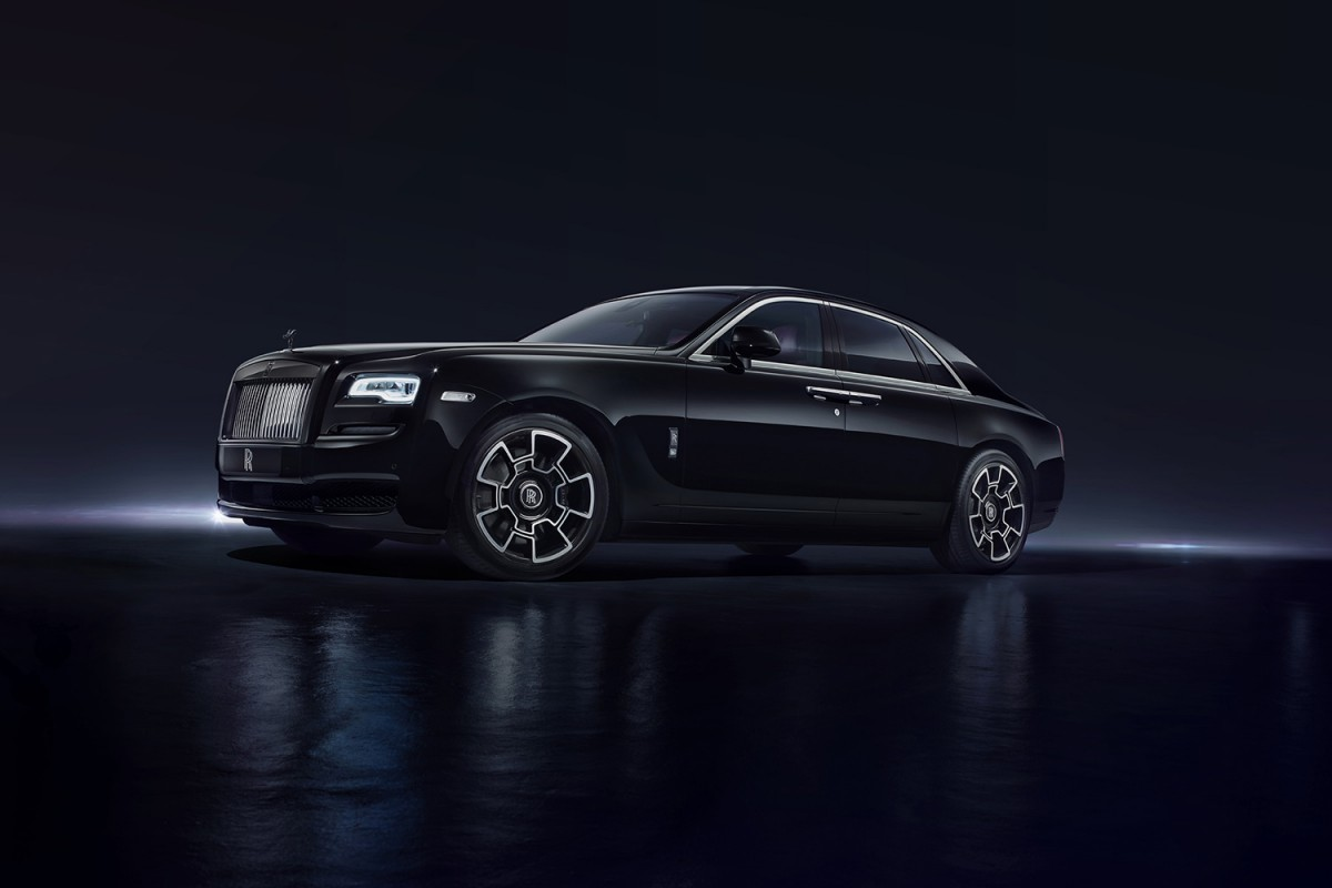 Images of rolls royce black badge