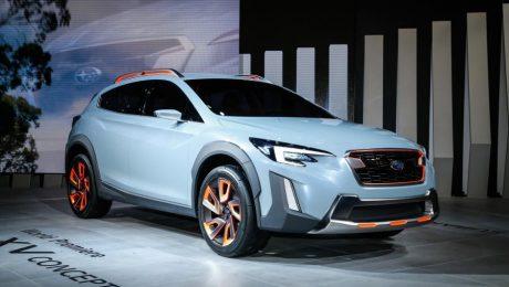 Images of Subaru XV concept, Geneva auto show