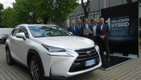 Lexus millionth hybrid premium car