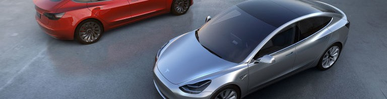 Images of 2017 Tesla Model 3