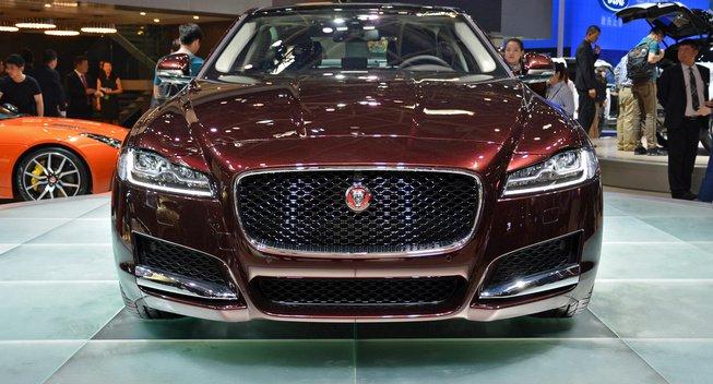 Beijing auto show Jaguar Land Rover