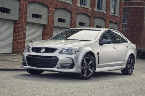 Holden black edition
