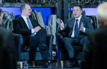 Ketil Solvik-Olsen and Elon Musk