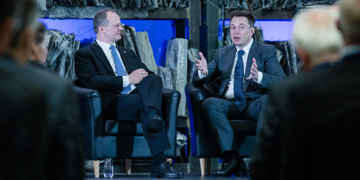 Ketil Solvik-Olsen and Elon Musk