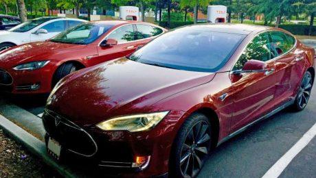 Tesla Model S auction