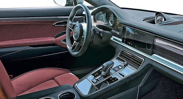 2017 Porsche Panamera interior image