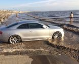 Three cars worth £91000 swamped