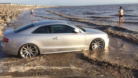 Three cars worth £91000 swamped