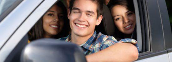 teen car driver