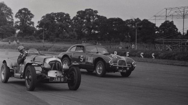Aston Martin DB2 1949 Le Mans 24-hour race