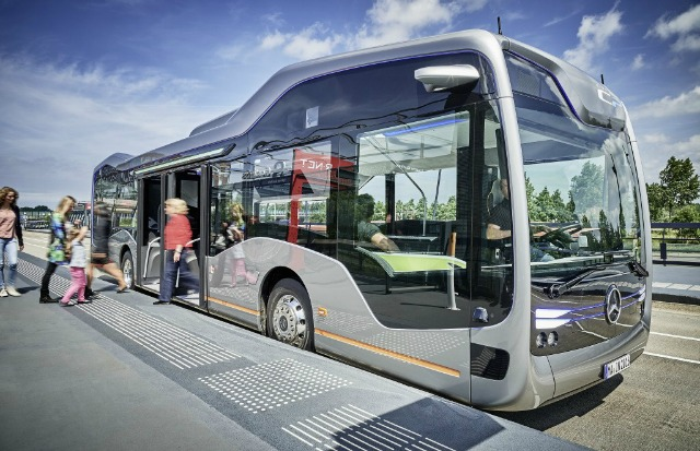 mercedes benz daimler ag autonomous bus technology