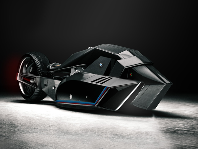 BMW unveils concept motorcycle