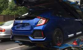 2017 Honda Civic Hatchback Spied in Europe