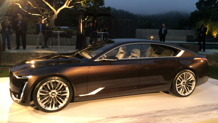 Luxury Vehicle: Cadillac And Mercedes Unveil Concept Cars At Pebble Beach