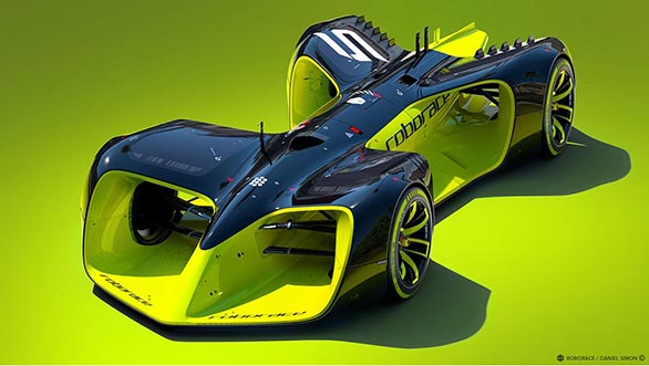 Images of Roborace DevBot