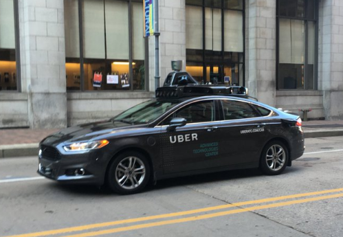 Uber test self driving