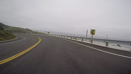 rural road in northern California