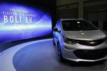 Chevrolet Bolts electrical vehicle