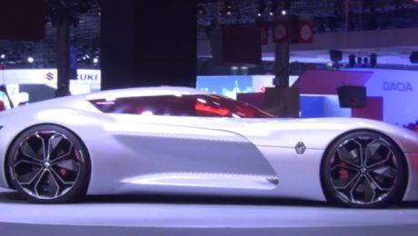 Renault Trezor, Paris motor show