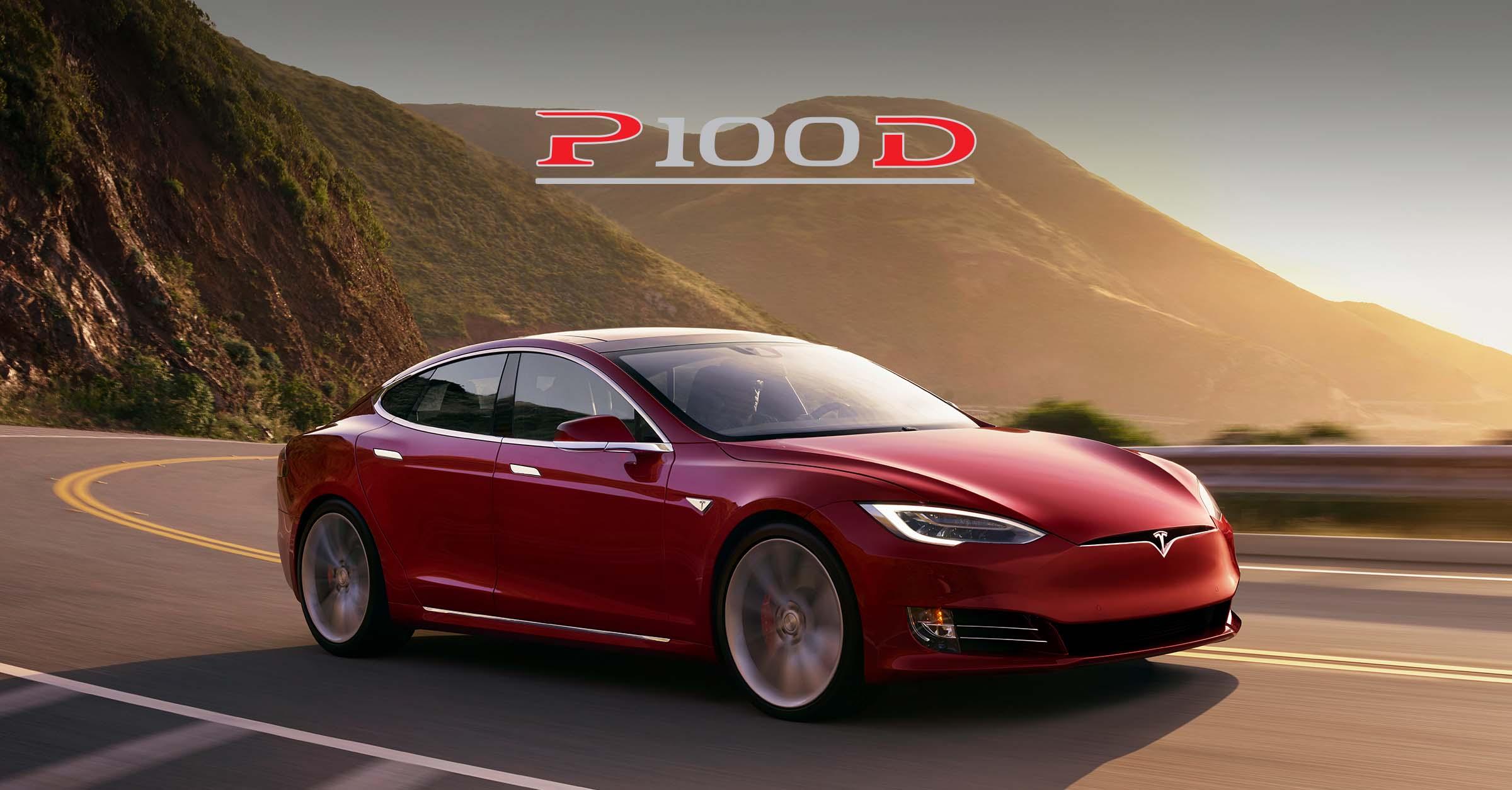 Images of Tesla Model S P100D
