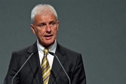 Volkswagen CEO Matthias Müller