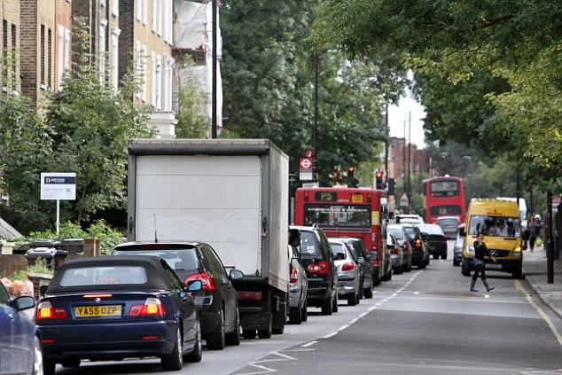 London's busy roads