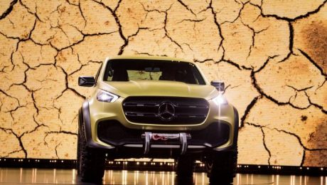 Mercedes Benz pickup images